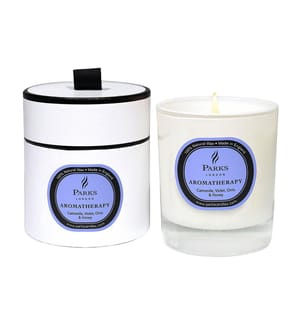 PARKS LONDON - Duftkerze Camomile, Violet Orris and Honey - Aromatherapy 235 g