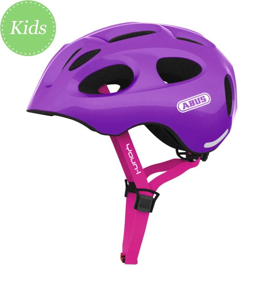 ABUS - Fahrradhelm Youn-I 0059827 - Sparkling-Purple