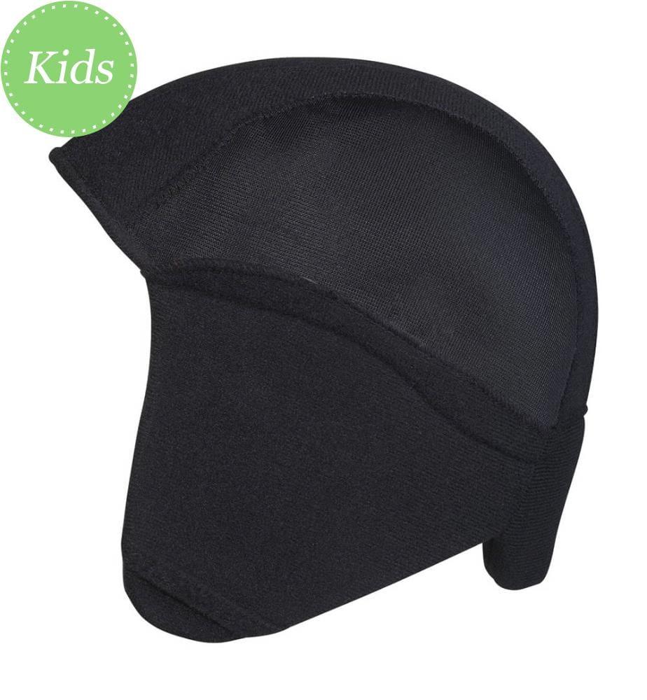 ABUS - Vliesmütze mit Ohrenschutz Winter Kit Smiley 0037044 - Black