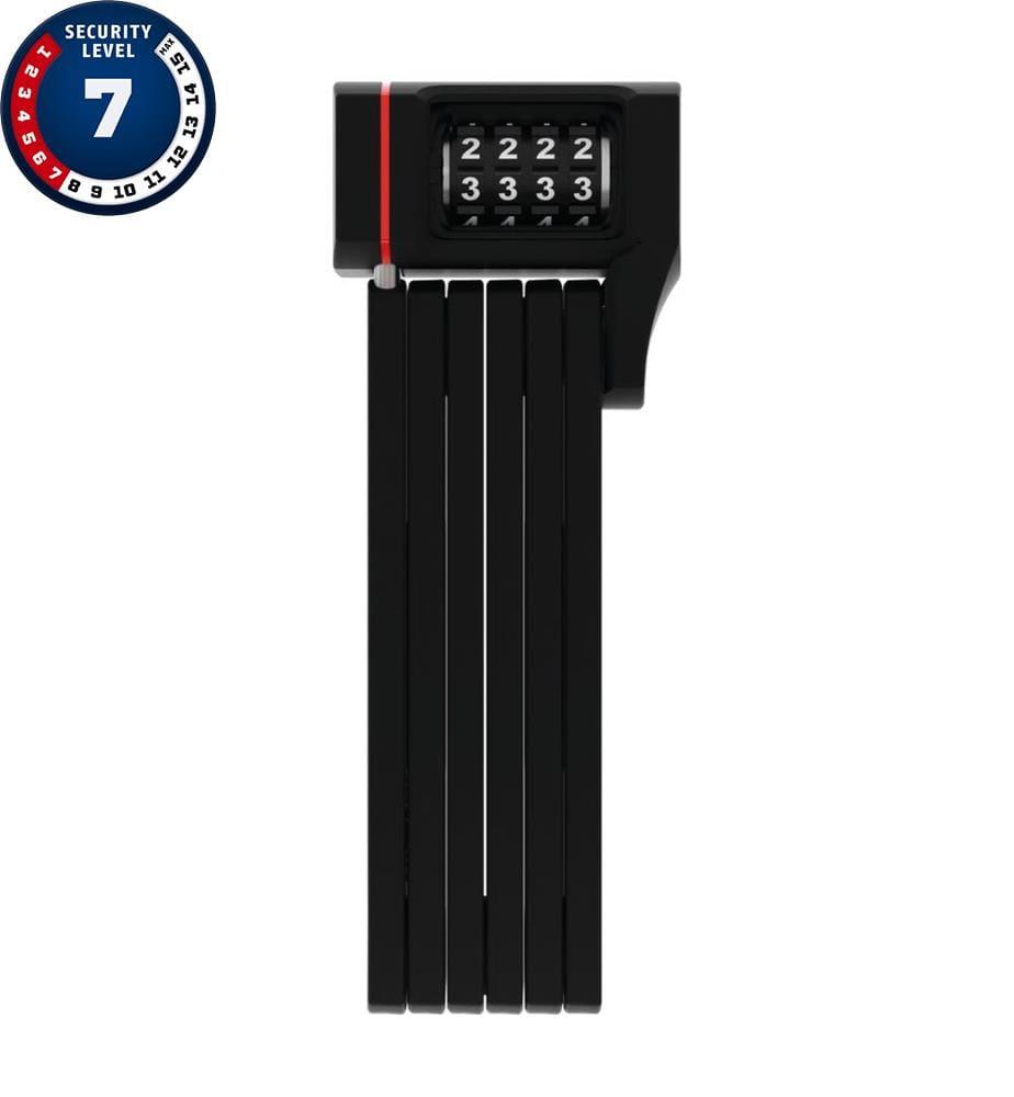 ABUS - Sicherheitsschloss Ugrip Bordo 5700/80C - Schwarz