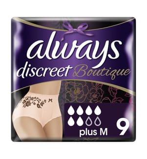 Always Discreet Discreet Boutique Höschen Bei Blasenschwäche Grösse Medium x 9 Always Discreet
