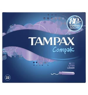 Tampons Compak - 22-Teilig