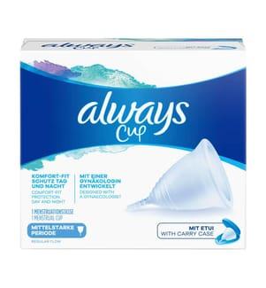 Always Menstruationstasse Cup für mittelstarke Periode - 1 Stück