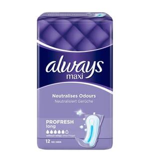 Always Maxi ProFresh Long Einlagen - 12 Stück