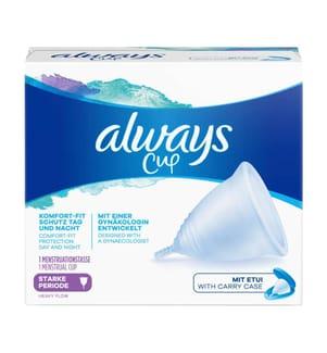 Always Menstruationstasse Cup für starke Periode - 1 Stück
