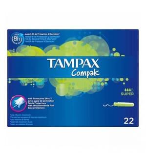 Tampax Compak Super - 22 Stück