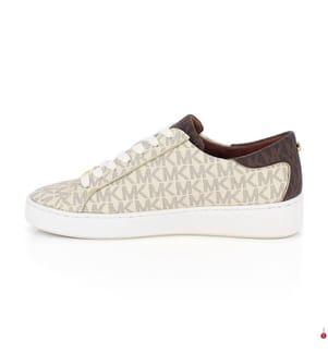 Leder-Sneakers Keaton - Cremeweiss