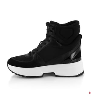 Leder-Sneakers Ballard - Schwarz