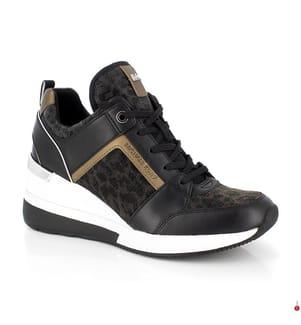 Sneakers Georgie - Schwarz und Bronze