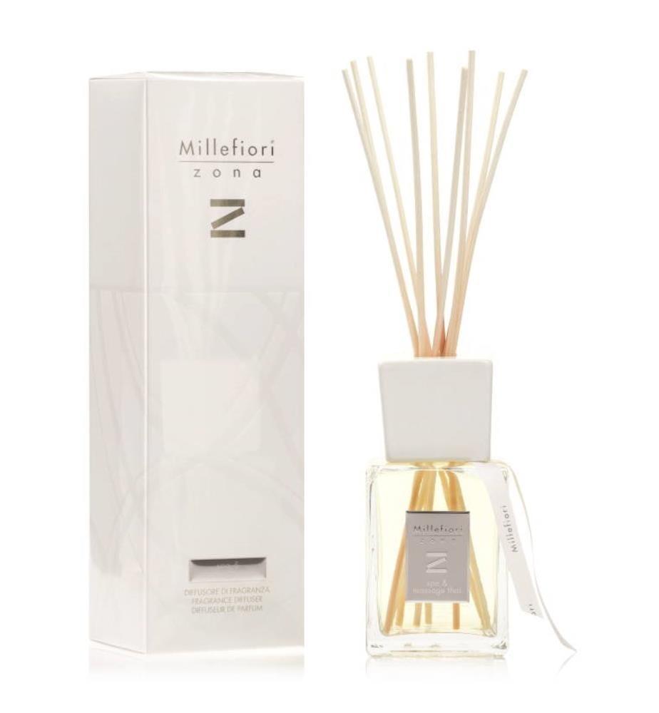 MILLEFIORI - New Zona Duftspender 500ml - Spa & Massage Thai