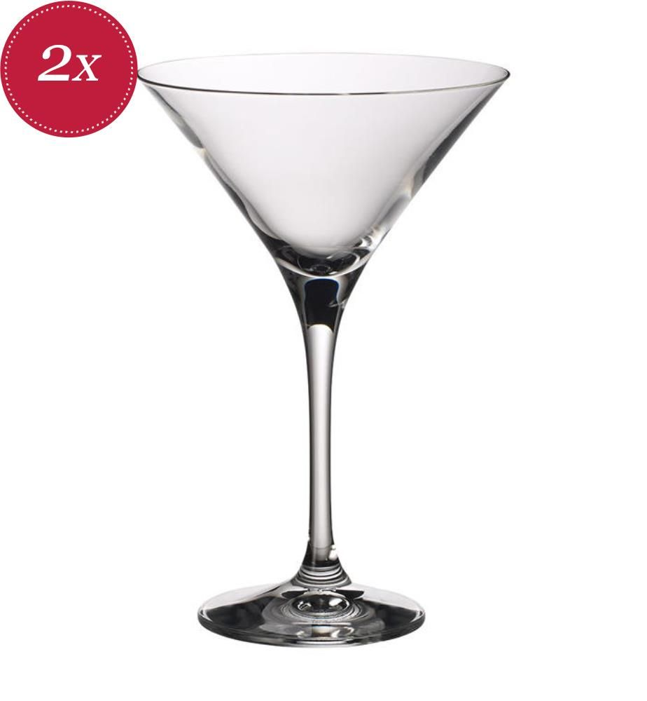 VILLEROY & BOCH - Purismo Bar Cocktail-/Martinigläser 240 ml, 2 Stück