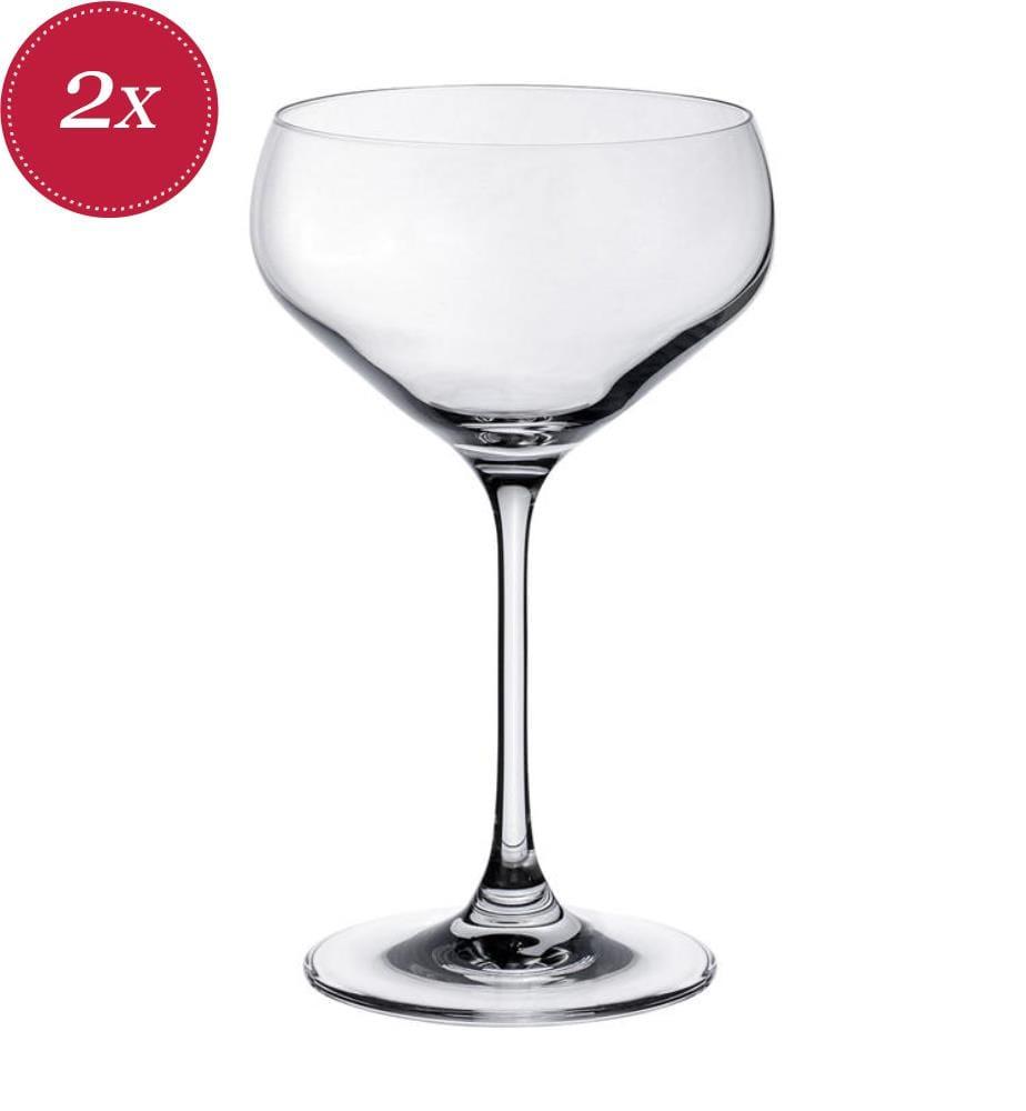 VILLEROY & BOCH - Purismo Bar Sektschalen 380 ml, 2 Stück