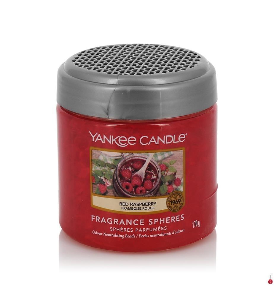 YANKEE CANDLE - Geruchsneutralisierende Perlen Red Raspberry - 170 g
