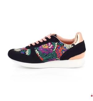 LES TROPEZIENNES - Sneakers Cocoon - Schwarz