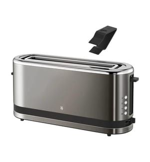 WMF - KÜCHENminis Langschlitz-Toaster Graphit