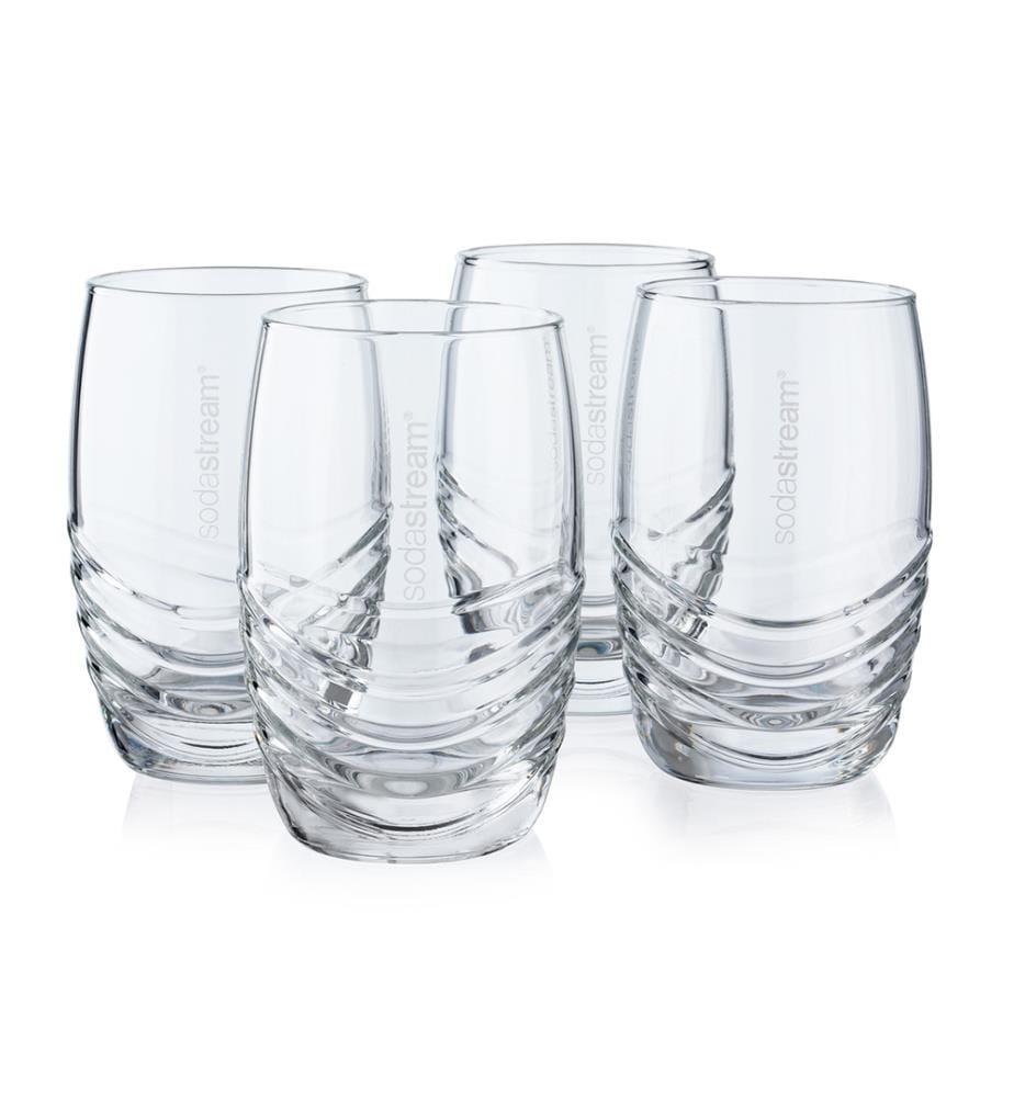 SodaStream - Set mit 4 Gläsern à 330 ml