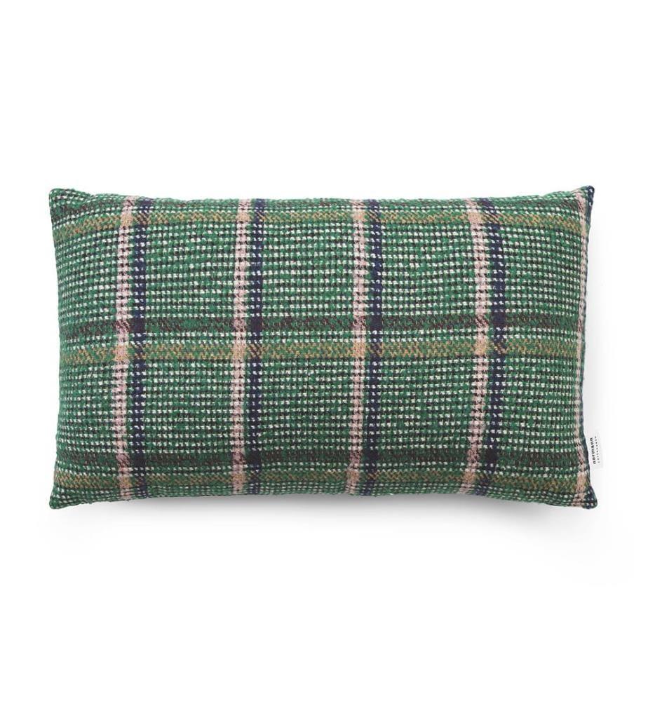 NORMANN COPENHAGEN - Flair Kissen 35 x 60 cm - Green Tweed