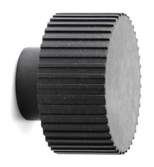 NORMANN COPENHAGEN - Chip Haken Medium 4,5 x Ø 6,1 cm - Black
