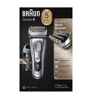 BRAUN - Series 9, 9370cc Wet&Dry