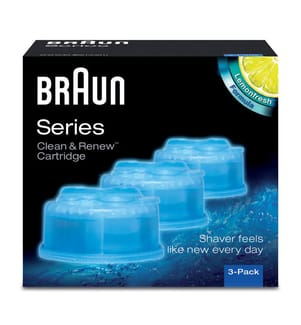 BRAUN - Clean & Renew Reinigungskartuschen - 3 Stück