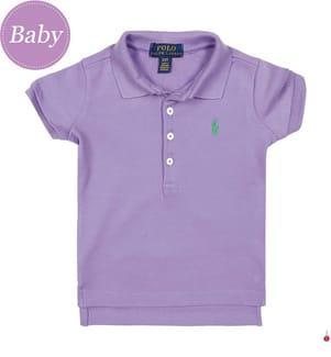 Poloshirt Small Pony - Violett