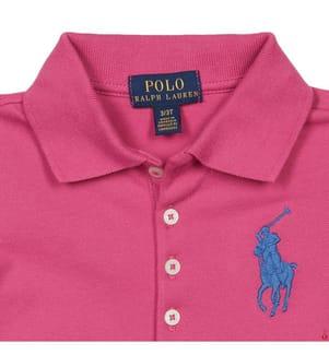 Poloshirt Big Pony - Rosa