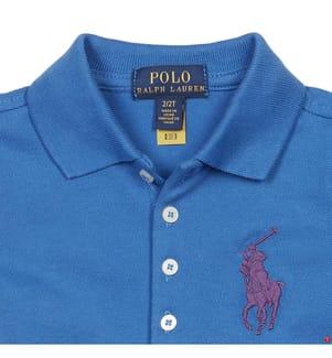 Poloshirt Big Pony - Blau