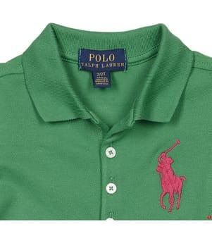 Poloshirt Big Pony - Grün