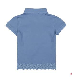 Poloshirt Small Pony - Blau