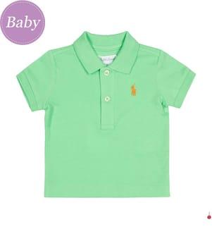 Poloshirt Small Pony - Grün