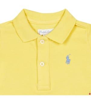 Poloshirt Small Pony - Gelb