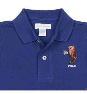 Poloshirt - Marinblau