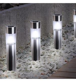 INKAZEN - 4er-Set Solarlampen