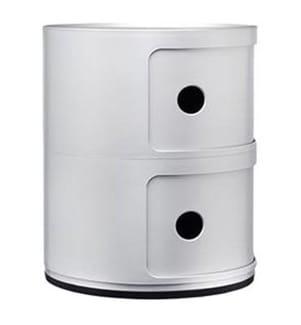 KARTELL - Baukastenelemente Componibili - Silber
