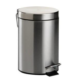 3-Liter Mülleimer - Silber
