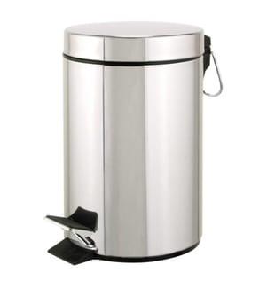 5-Liter Mülleimer - Silber