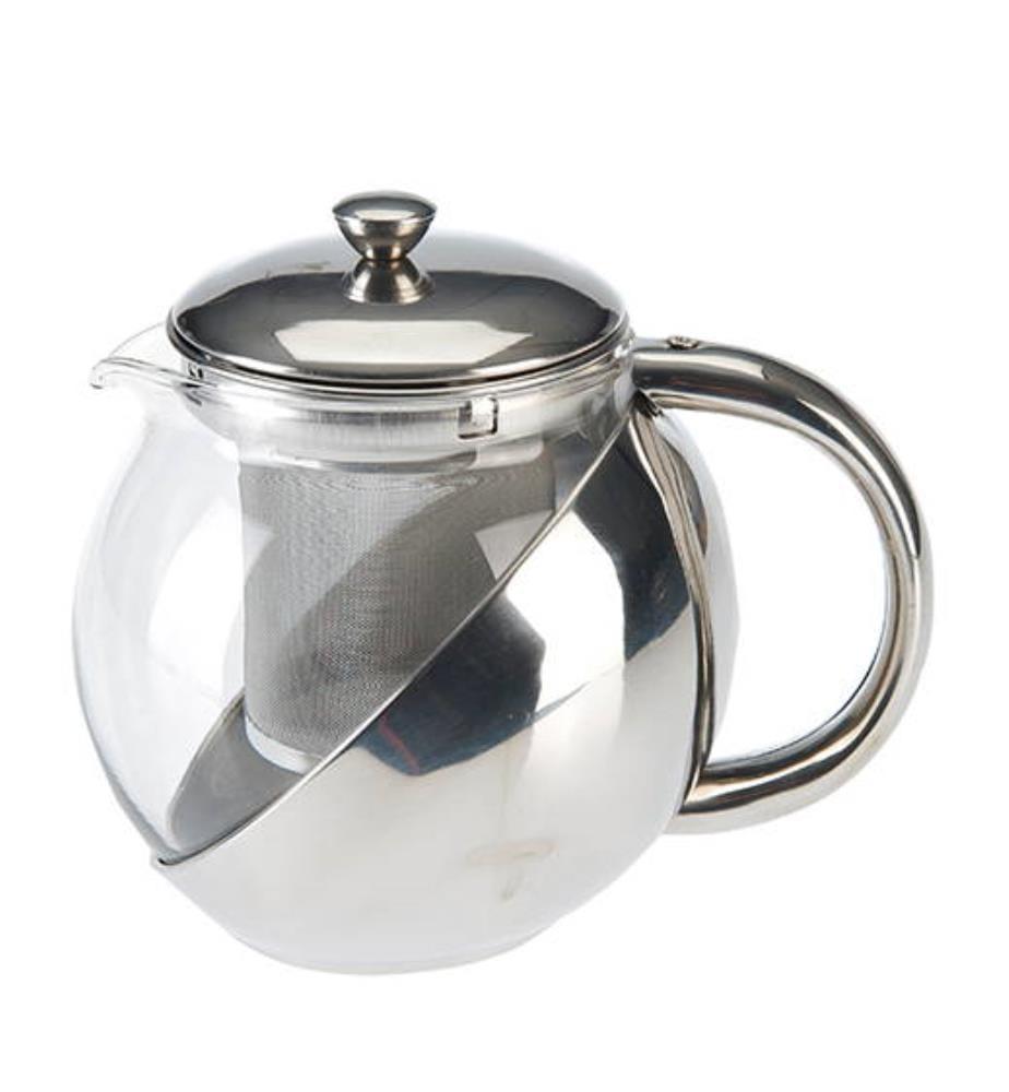 Teekanne, 1,2 l, mit Edelstahleinsatz