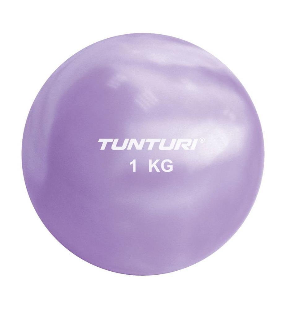 TUNTURI - Yoga und Pilates Ball 1 kg 12 cm Violett