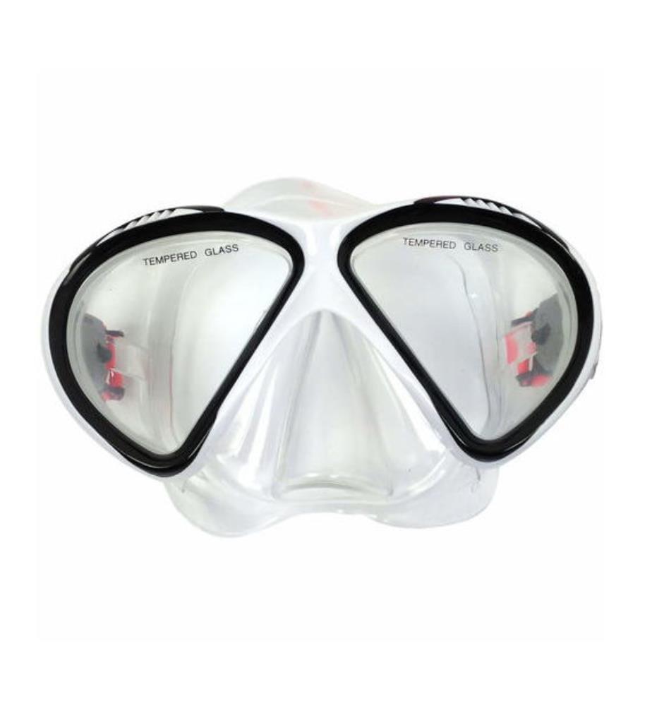 TUNTURI - Tauchmaske - Transparent und Schwarz