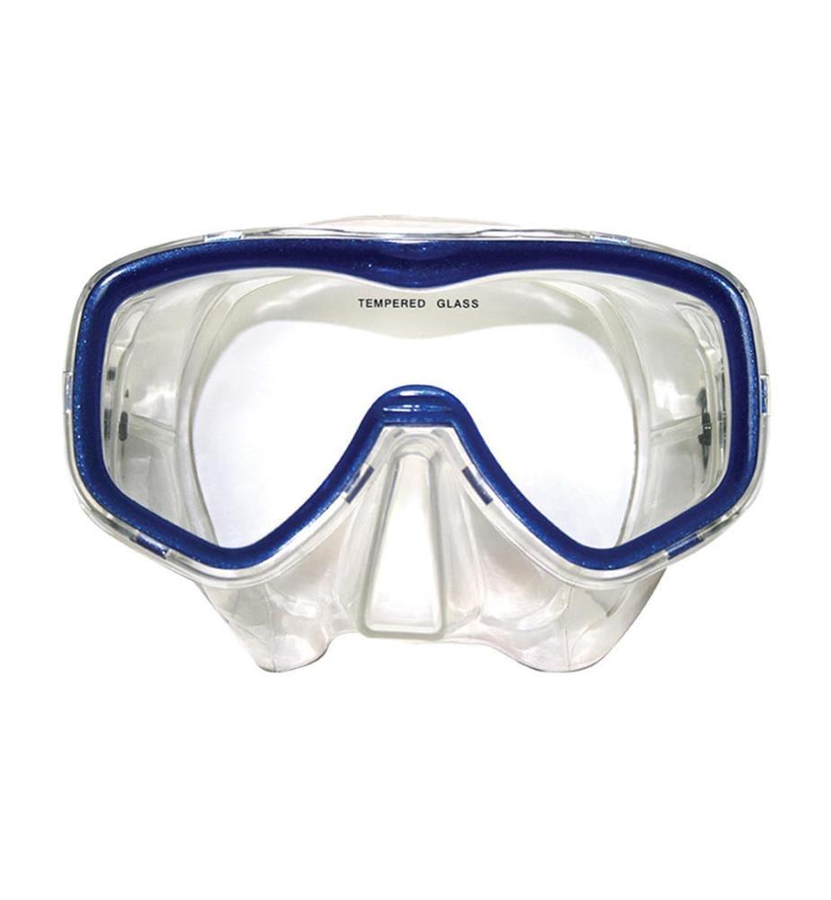 TUNTURI - Tauchmaske - Transparent und Blau