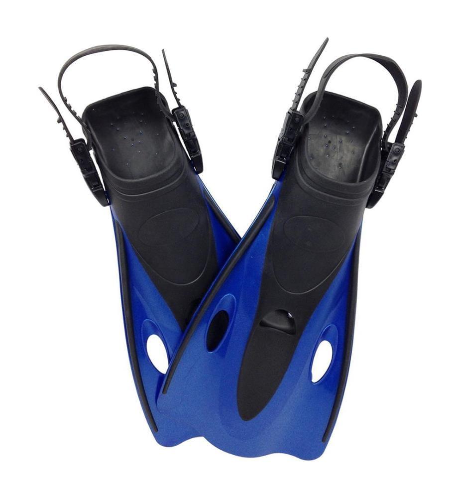 TUNTURI - Schwimmflossen - Schwarz und Blau