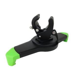 TUNTURI - Verstellbarer Tablet Halter von Schwarz mit Grün