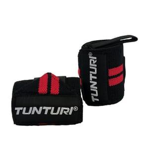 TUNTURI - Handgelenksbandage Schwarz und Rot