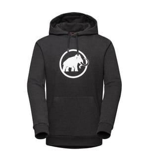 Kapuzenpullover Mammut Logo - Black melange PRT1
