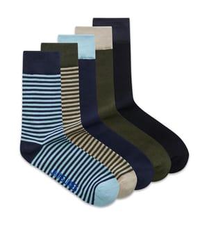5er-Pack Socken Jack & Jones - Multicolor