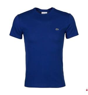 LACOSTE - T-Shirt Regular Fit, Dunkelblau