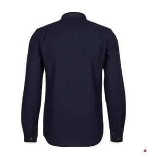 LACOSTE - Hemd Regular Fit, Marinblau