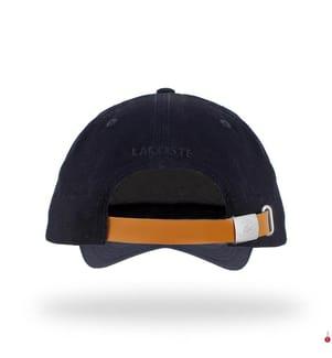 LACOSTE - Basecap Badge, Marinblau
