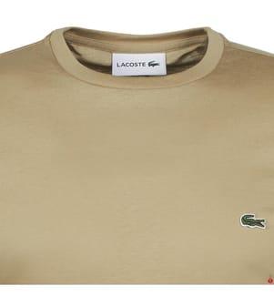 LACOSTE - T-Shirt Regular Fit, Beige
