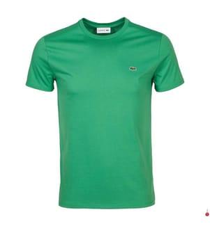 LACOSTE - T-Shirt Regular Fit, Grün